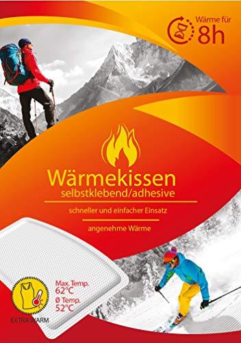 10er Pack Wärmekissen 8h, Wärmepflaster/Schmerzpflaster | Davartis®