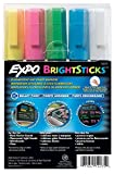 expo wet sticks - EXPO BrightSticks, Fluorescent Wet Erase - 14075