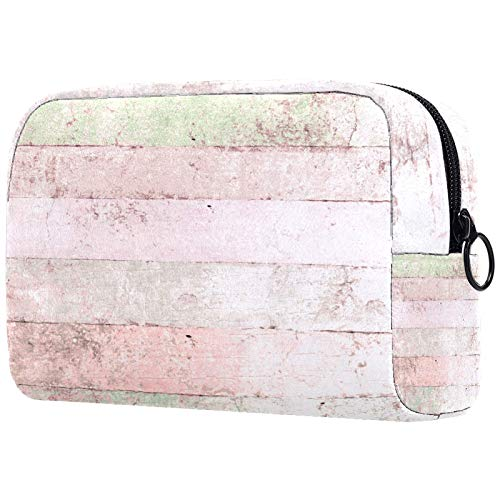 Neceser de viaje de nylon, Dopp Kit de afeitar bolsa de aseo, organizador del día de San Valentín, color rosa