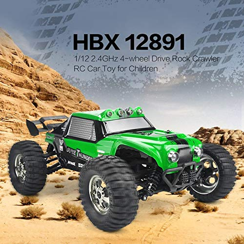 RC Auto kaufen Truggy Bild 5: Ruirain DE HBX 12891 Thruster 1 12 2 4GHz 4WD Drift Desert Off Road High Speed Racing Car Climber RC Car Toy for Children*