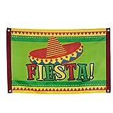 PARTY DISCOUNT Fahne Fiesta, 60 x 90cm, bunt