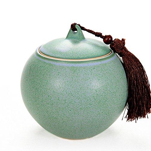 Porzellan-tee-container,Tee aufbewahrungsbehälter Keramik krug Pufferspeicher Pu ' er tee-dosen-A
