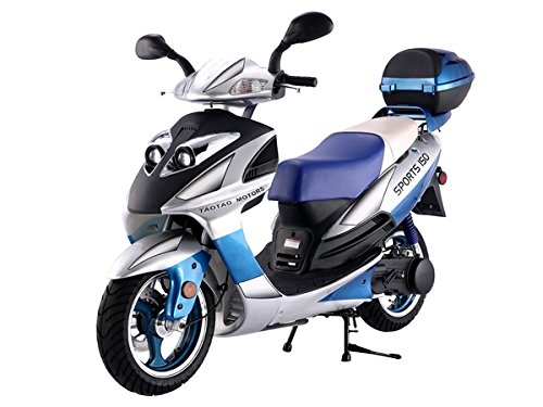 TAO SMART DEALSNOW Brings Brand New 150cc Gas Fully Automatic Street Legal Scooter TaoTao 150cc with Matching Trunk Included - CHOOSE your COLOR