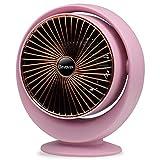 Termoventilatore Elettrico,Ozvavzk Portatile Stufa Elettrica Basso Consumo Mini Riscaldatore Con Protezione da surriscaldamento e ribaltamento e Riscaldamento a un Pulsante.