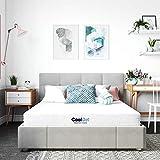 Classic Brands Cool Gel Memory Foam 6-Inch, CertiPUR-US Certified Mattress, Twin, White