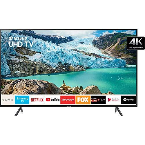 Smart TV 4K 43' UN43RU7100 Bluetooth, Samsung, 43RU7100