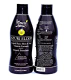 Nzuri Elixir - Liquid Hair Vitamin Plus Growth Stimulants 2-32 oz Bottles