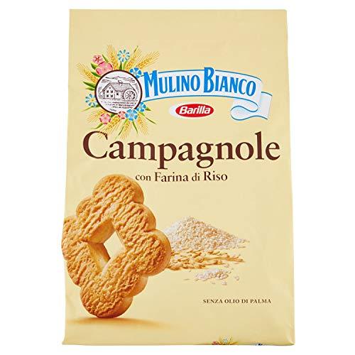 Mulino Bianco Biscotti Frollini Campagnole, Colazione Ricca di Gusto, 700g