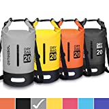arteesol Dry Bag - 5L 10L 20L 32L Waterproof trockener Beutel/Sack wasserdichte Tasche mit Langem justierbarem Bügel für Kayaking Boots-Ausflug...