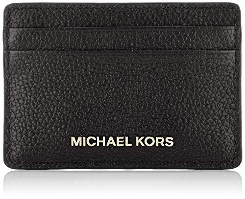 Michael Kors Womens JET SET CARD HOLDER, BLACK, one size