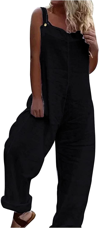 BEIEBIA Women's V Neck Floral Maxi Dress Boho Printed Adjustable Spaghetti Strap Ethnic Beach Long Dress with Pockets