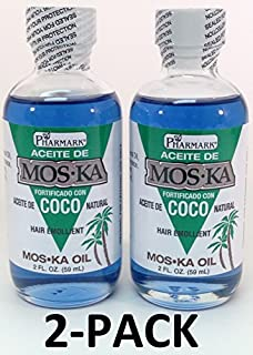 Aceite De Moska Fortificado Con Aceite De Coco 2 Oz. Oil 2-PACK