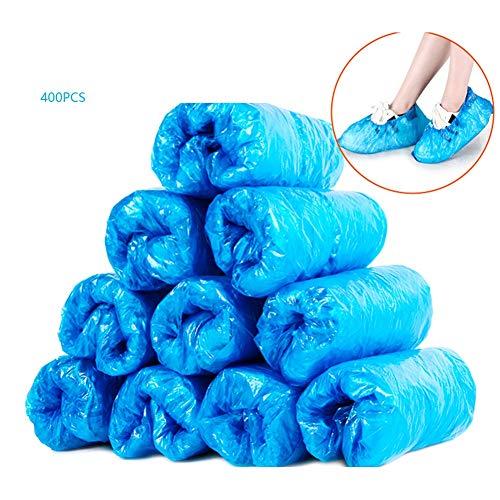 200/400 Pack van Blue Disposable overschoenen for Schoenen en laarzen te beschermen Tapijten en vloeren.reinigingsaccessoires (Color : Blue)