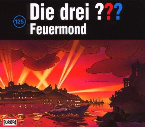 Die Drei Fragezeichen 3 ??? CD 125 Feuermond 3er BOX