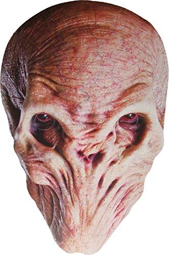 Docteur Who - Le Silence - (The Silence) - Masque de Visage Fait en Carte Rigide