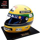 アイルトン セナ(Ayrton Senna)SID MOSCA 1/1 アイルトン・セナ 1992年 日本グランプリ レプリカヘルメット