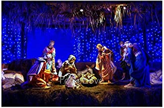 PotteLove Jigsaw Puzzles 1000 Pieces for Adults, Nativity Scene Puzzles, Entertainment DIY Toys for Creative Gift Home Decor