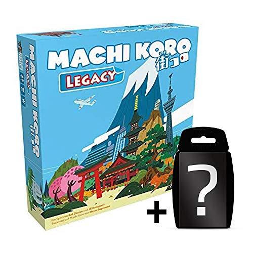 Machi Koro Legacy - Brettspiel - Deutsch | Aufbau-Spiel | Set inkl. Kartenspiel