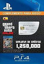 Grand Theft Auto Online - GTA V Cash Card   1,250,000 GTA-