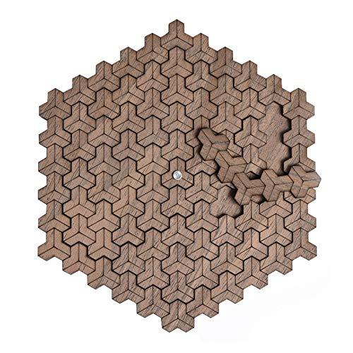 ZEL Adulto Puzzle Cubo Escher Ultra Alta Dificultad Auto-masoquista Burning de Madera del Rompecabezas del Cerebro 10.8