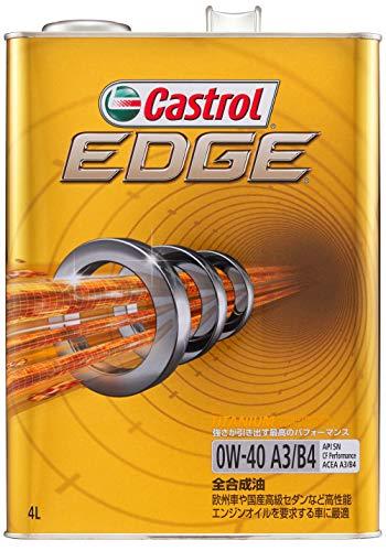 カストロール エンジンオイル EDGE 0W-40 4L 4輪ガソリン/ディーゼル車両用全合成油 SN/CF Castrol