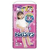 【パンツ Lサイズ】トレパンマン女の子 トイレトレーニング用 (9~14kg)36枚