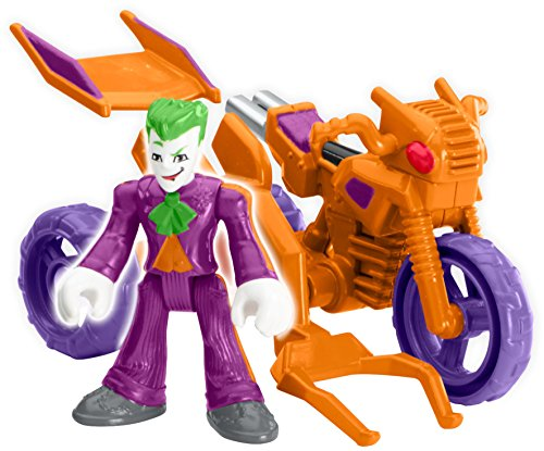 Imaginext 2016 The Joker & Cycle by Streets Of Gotham City 4