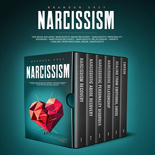 Narcissism: Narcissistic Abuse Recovery, Personality Disorder, Narcissism Recovery, Narcissistic Relationship, Empath & Healing from Emotional Abuse. (Narcissist and Codependency) cover art