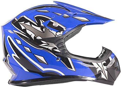 Typhoon Kids Youth Offroad Helmet DOT Motocross...