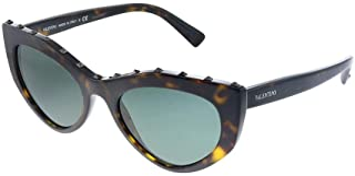 Valentino VA4060 500271 Havana VA4060 Cats Eyes Sunglasses Lens Category 3 Size