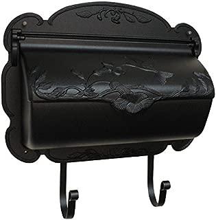 Special Lite Products SHB-1004-BLK Hummingbird Horizontal Mailbox, Black