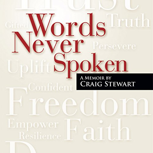 Words Never Spoken audiobook cover art