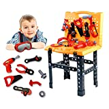 Toy Tool Kids Construction Toy Workbench for Toddlers, Kids Tool Bench Construction Set
