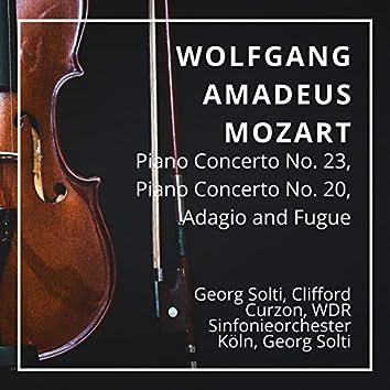 Wolfgang Amadeus Mozart: Piano Concerto No. 23, Piano Concerto No. 20, Adagio and Fugue