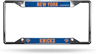 Rico Industries NBA New York Knicks License Plate Frame, One Size, Team Colors