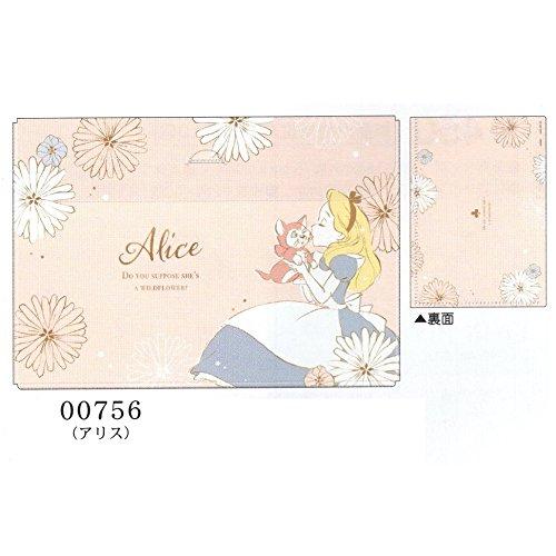 ディズニー プリンセス / B5 見開き ルーズリーフケース 50枚収納 (00756 アリス)