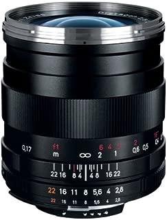 Zeiss 25mm f/2.8 Distagon T ZF.2 Lens (Nikon F-Mount)