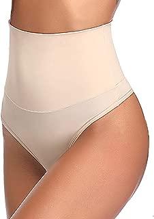 High Waist Thong Shapewear for Women Tummy Control Thong Girdle Panty Body Shaper Thong Underwear