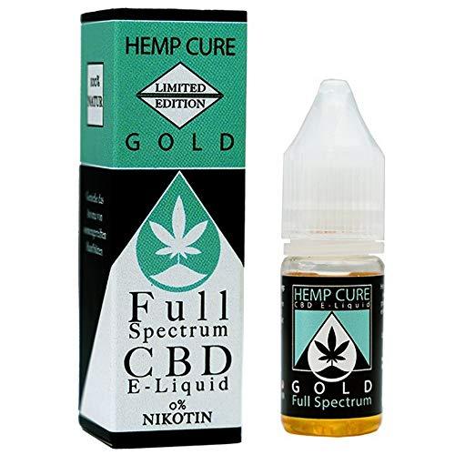 GOLD Full Spectrum e-liquid Hanfextrakt, Vollspektrum, natürliche Cannabis Terpene,
