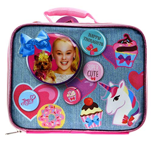 JoJo Siwa Insulated Lunchbox-Pink