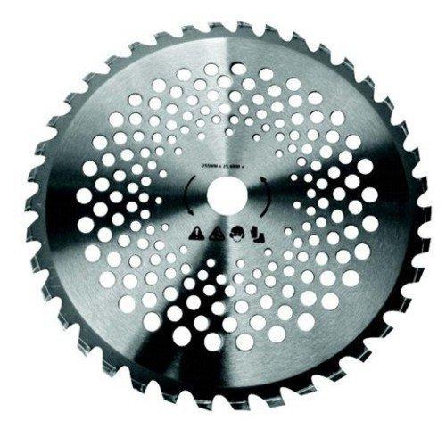 Disco Acciaio 40 Denti Tungsteno Per Decespugliatori Mm 255 Giardinaggio Macchine