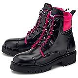 Tommy Jeans Damen Schnür-Boots Fashion POP Color...