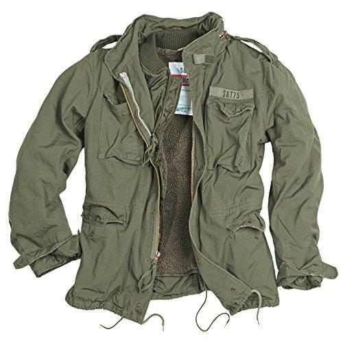 Chaqueta para hombre Delta Giant M65 Regiment verde oliva S
