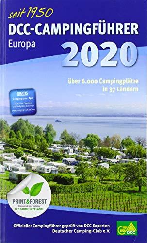 DCC-Campingführer Europa 2020: Offizieller Campingführer Deutscher Camping-Club e.V.