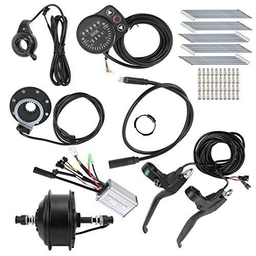 Keenso Kit de conversión de Bicicleta eléctrica, 36 V 250 W 20...
