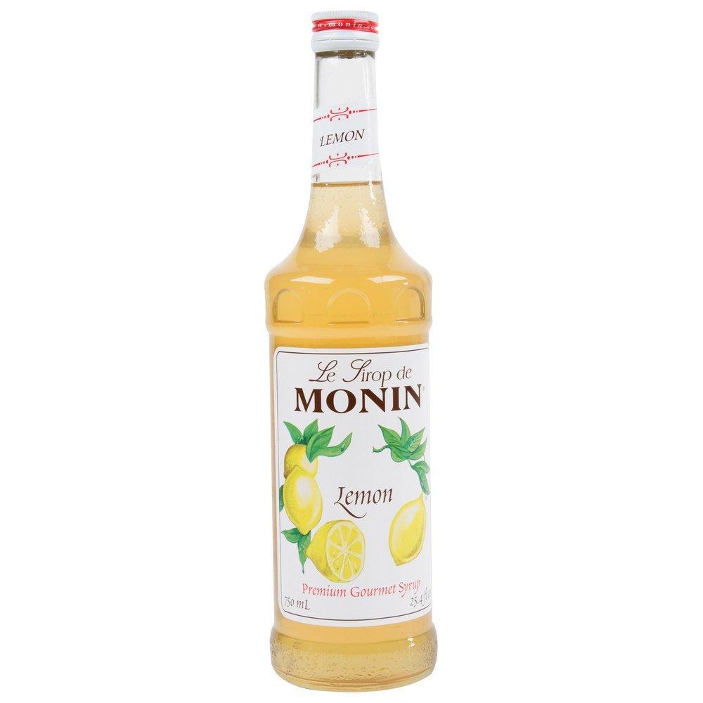 Free Shipping New Monin Lemon Syrup 750ml 25.4oz discount