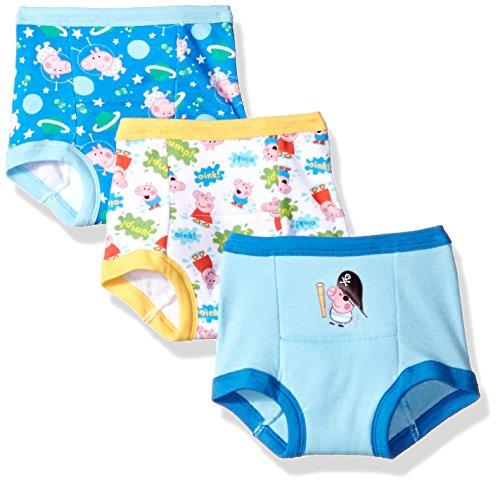 Peppa Pig Toddler 3pk Potty Training Pant, Peppa BOY Multi