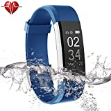 Ulvench Fitness Tracker, Heart Rate Monitor Smart Watch with Calorie Counter Watch Pedometer Sleep...