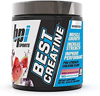 BPI Sports Best Creatine - Creatine Monohydrate, Himalayan Salt - Strength, Pump, Endurance, Muscle Growth, Muscle Definit...