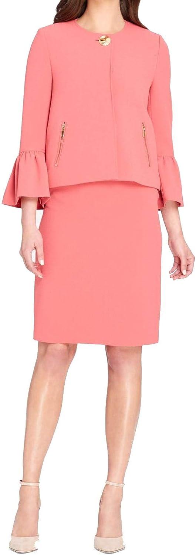 Tahari ASL Womens Petites Office Wear Business Skirt Suit